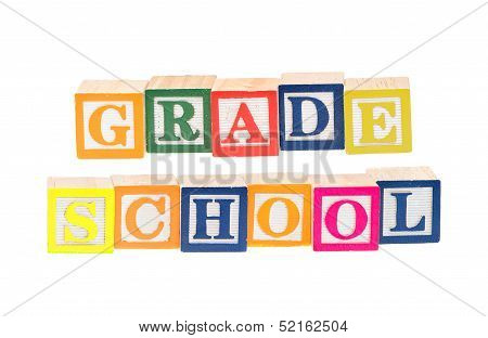 Baby Blocks Spelling Grade School