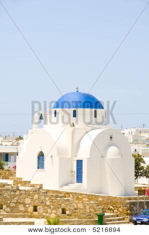 Orthodox Greek Island Church Anti Paros Cyclades