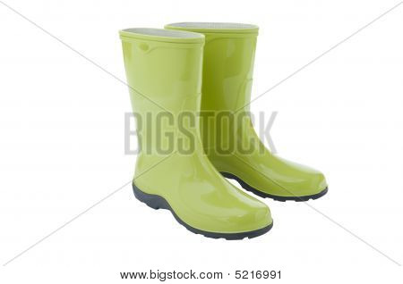 Pair Of Gardening Boots
