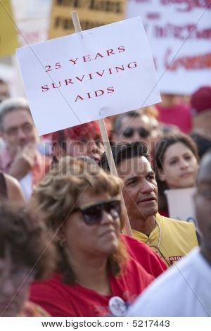 Aids Project Los Angeles Rally