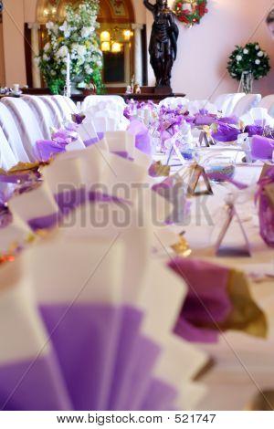 Wedding Table Spread
