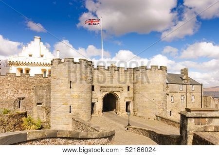 Stirling castle entrance gatehouse