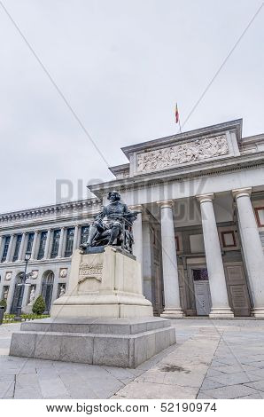Prado Museum At Madrid, Spain