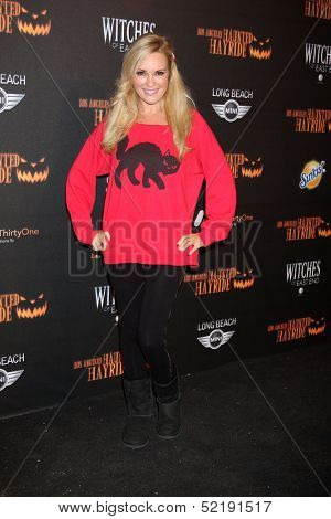 LOS ANGELES - OCT 10:  Bridget Marquardt at the 8th Annual LA Haunted Hayride Premiere Night at Griffith Park on October 10, 2013 in Los Angeles, CA