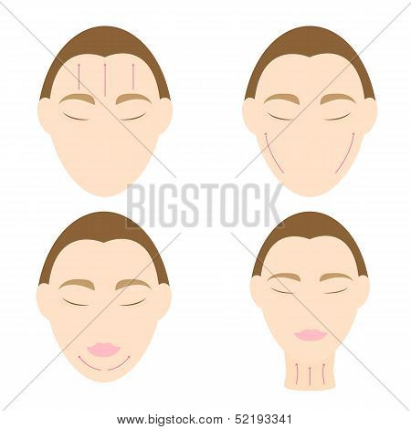 Woman Easy Massage Anti Face Wrinkle 2