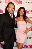 LOS ANGELES - OCT 9:  Michael Ohoven, Joyce Giraud at the Hollywood In Bright Pink at Bagatelle LA o
