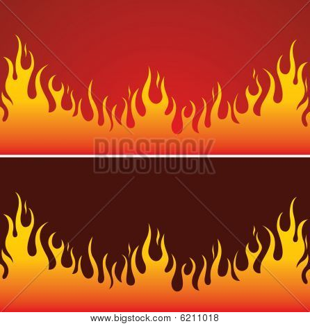 Feuer-Hintergrund