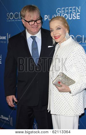 LOS ANGELES - MAR 22:  Jonathan Weedman, Anne Jeffreys at the Backstage At The Geffen Gala at Geffen Playhouse on March 22, 2014 in Westwood, CA