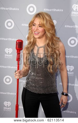 LOS ANGELES - MAR 24:  Shakira at the Album Release Party For Shakira's Exclusive Deluxe Edition at Target on March 24, 2014 in Burbank, CA