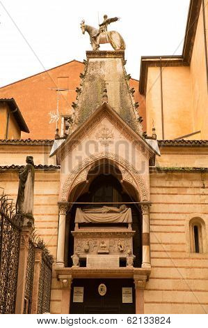 Scaliger Tombs In Verona..