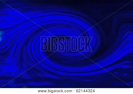 Blue Abstract Curve - Beautiful Color Background and Screensaver Patterns