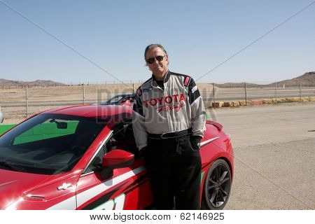 LOS ANGELES - MAR 15:  Eric Braeden at the Toyota Grand Prix of Long Beach Pro-Celebrity Race Training at Willow Springs International Speedway on March 15, 2014 in Rosamond, CA