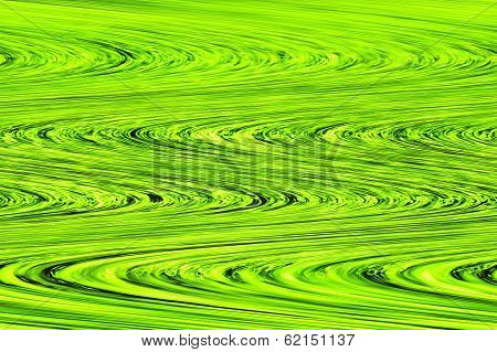 Green Flow - Beautiful Color Background and Screensaver Patterns