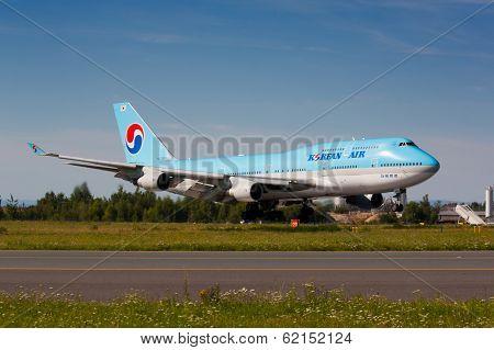 B747 Korean Air