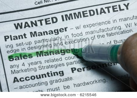 Wanted Job