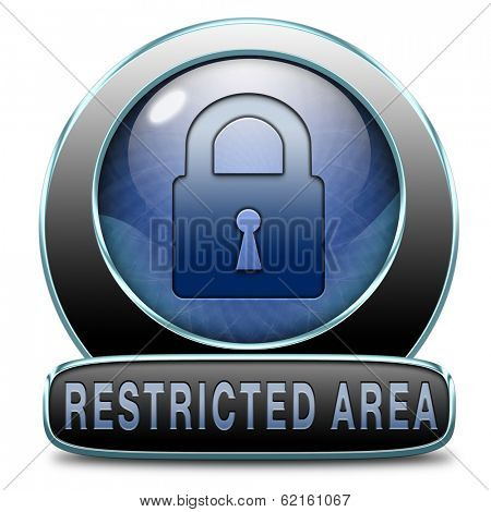 access password protected restricted area members only