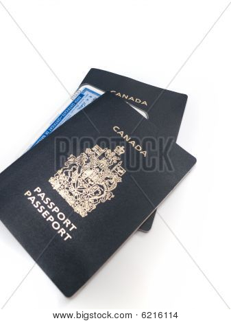 Canadian Passports and Birth Certificate