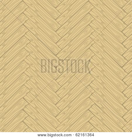 Parquet cartoon doodle style seamless pattern
