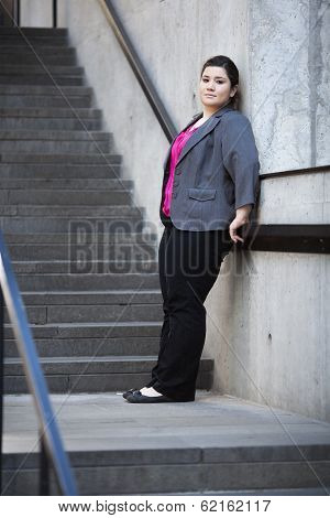 Businesswoman - Taking A Break