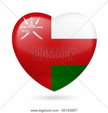 Heart icon of Oman