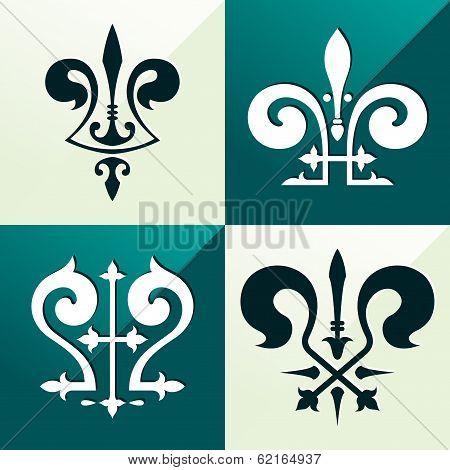 medieval emblem ornament