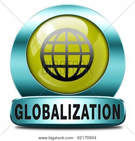 globalization global open market international worldwide trade and economy