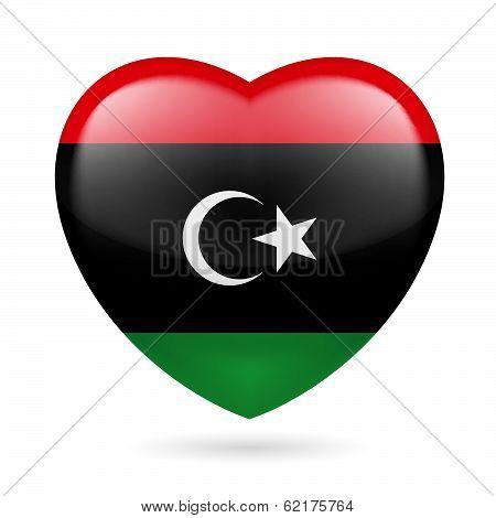 Heart icon of Libya