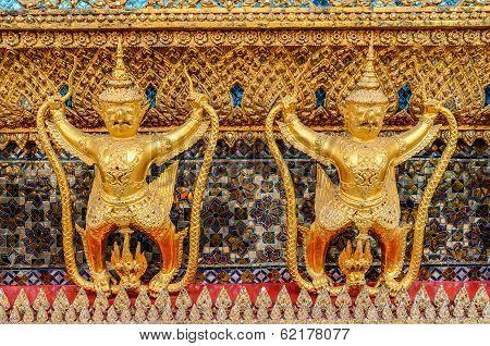 Garuda Wat Phra Kaew Bangkok Thailand