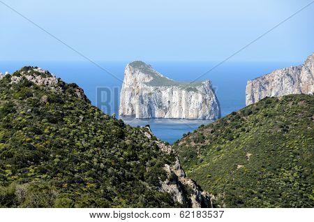 Sardinia west coast