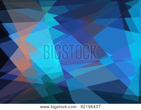 Abstract geometric cubism background