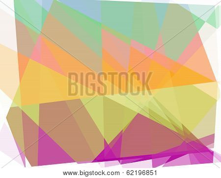 geometric cubism background