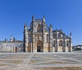 stock photo of masterpiece  - Batalha Monastery - JPG