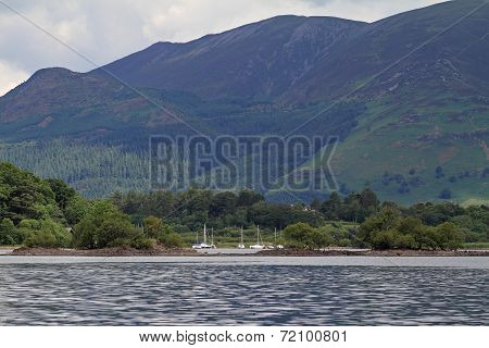 Sailboats On Derwentwater