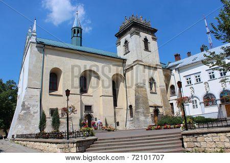Roman-catholic Church Of Benedictines In Lviv