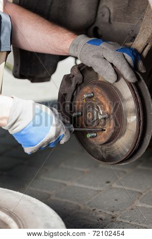 Changing Car Wheel
