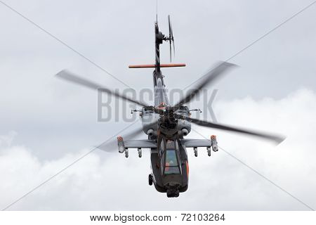 Apache arrack helicopter