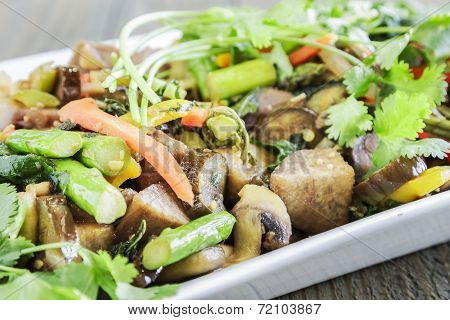Kalo Stir-fry
