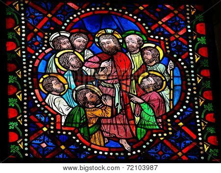 Jesus, Thomas And The Apostles