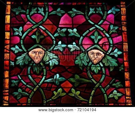 Stained Glass In Leon