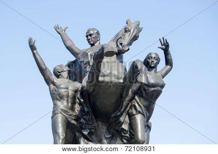 Ataturk Monument, Antalya, Turkey