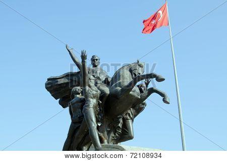 National Monument, Antalya, Turkey
