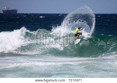 Professional surfer - Merewether Australia
