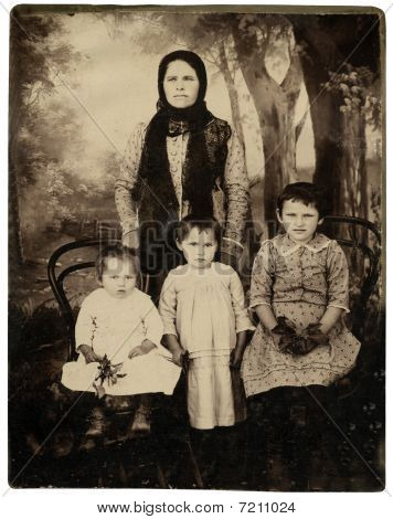 Vintage Family Portrait.