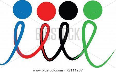 Racial harmony icon