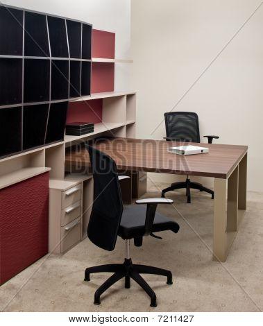 Modern office interior design.