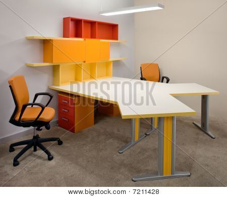Modern office interior design.