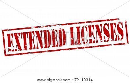 Extended Licenses