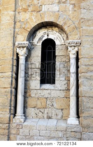 Architectural Detail Of The Church Of Saintes-maries-de-la-mer
