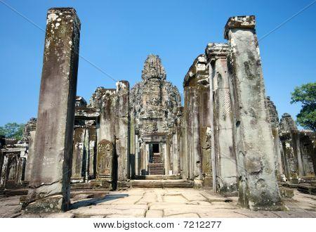 Bayon Temple Entrance