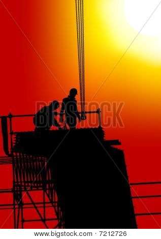 Building under sun